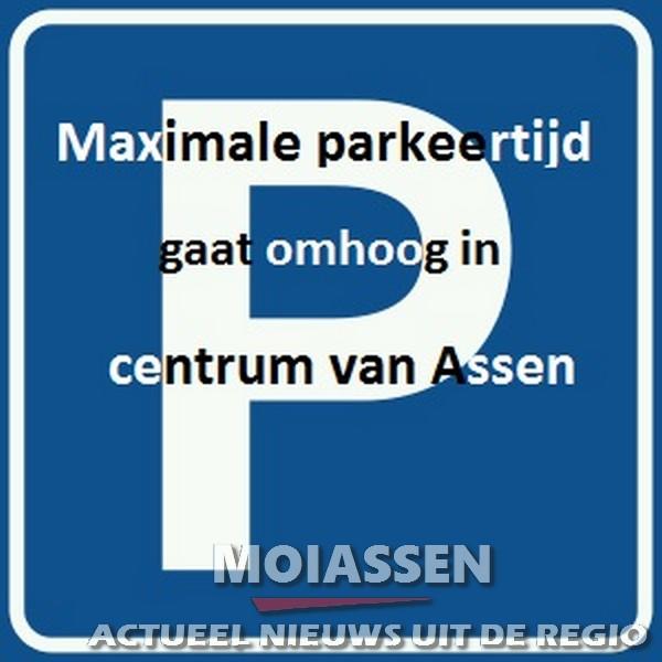 Maximale parkeertijd gaat omhoog in centrum van Assen