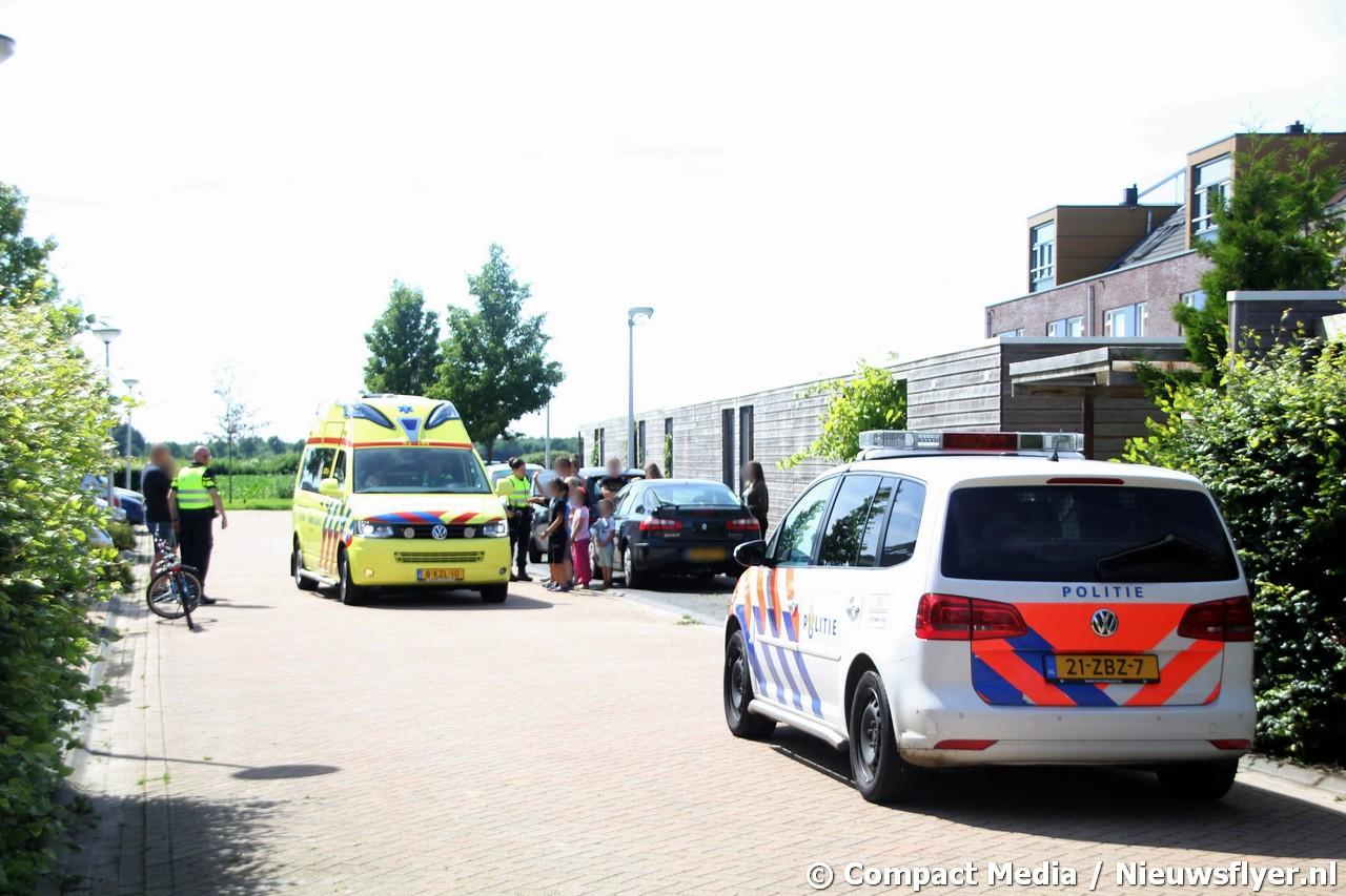 Kind gewond bij ongeval op de Boomgaard in de wijk Kloosterveen  Assen