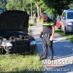 Bestuurder licht gewond bij eenzijdig verkeersongeval in Amen