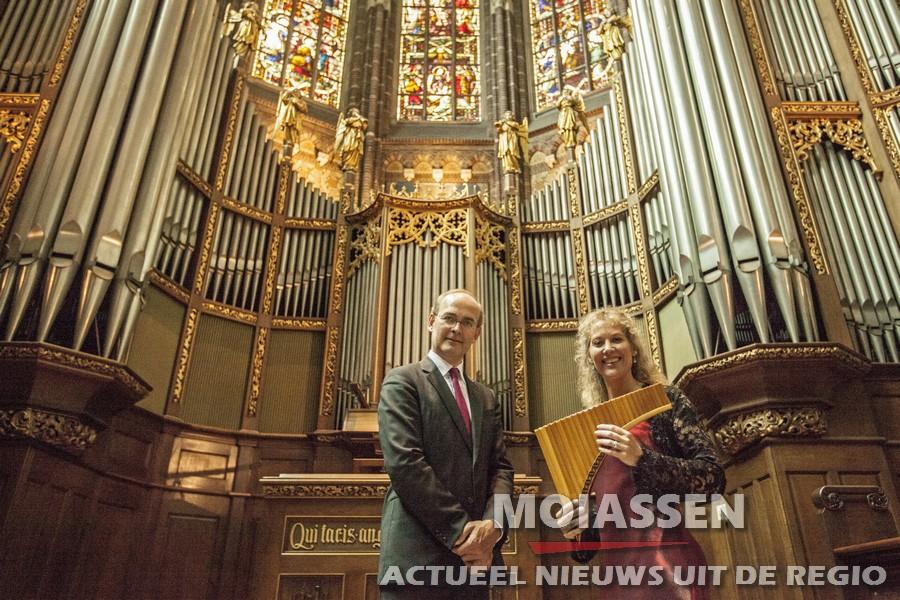 Zomerconcert panfluit & orgel in Rolde