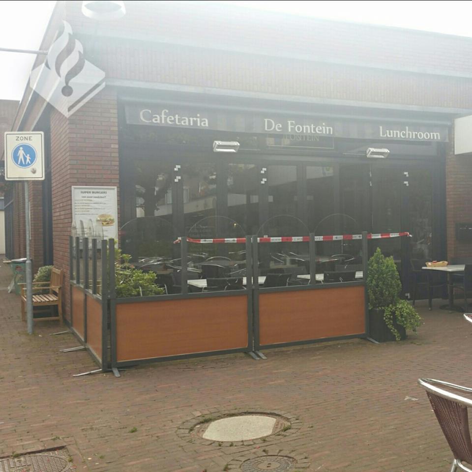 Inbraak gepleegd bij cafetaria De Fontein in Assen