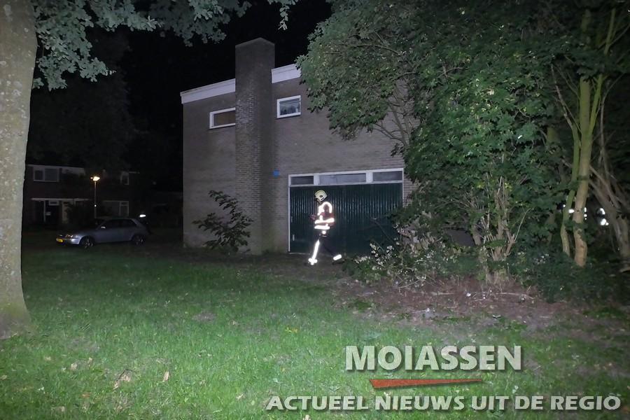 Woningbrand aan de Stadhouderslaan in Assen : snel onder controle