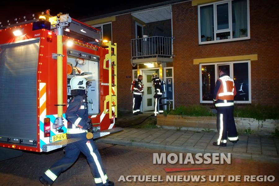 Politie houden alle scenario's open naar verdachte woningbrand Assen