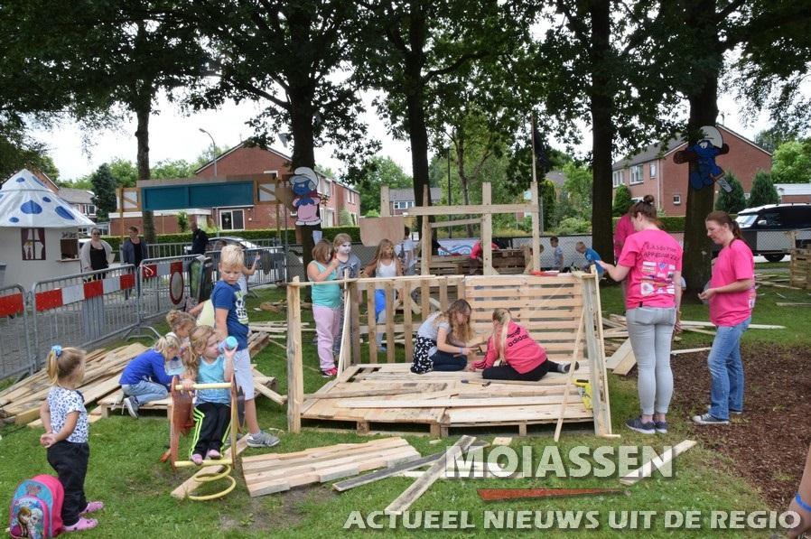 Kinderen bouwen hun eigen Appiedam Assen-Oost
