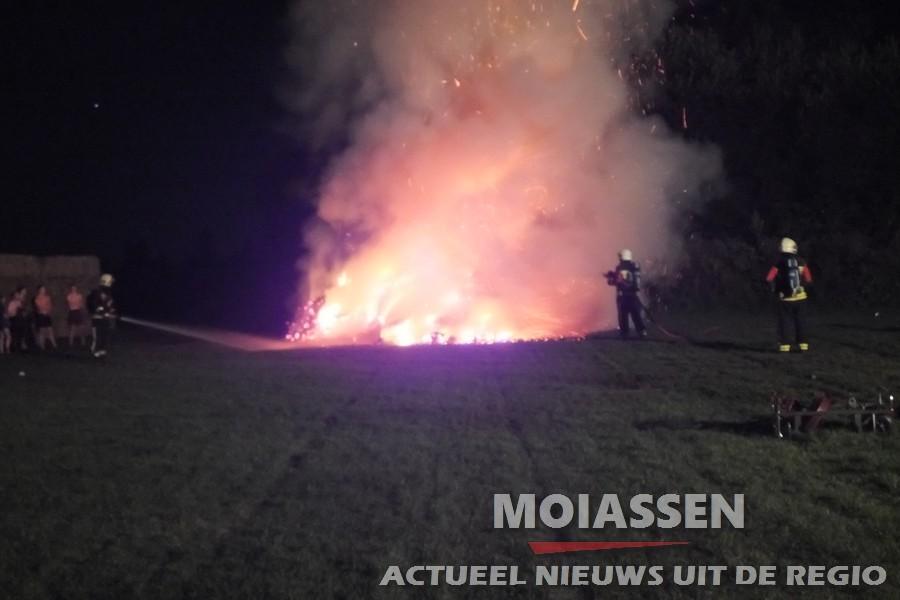 Brandweer van Assen gealarmeerd voor buitenband bij Baggelhuizerplas in Assen