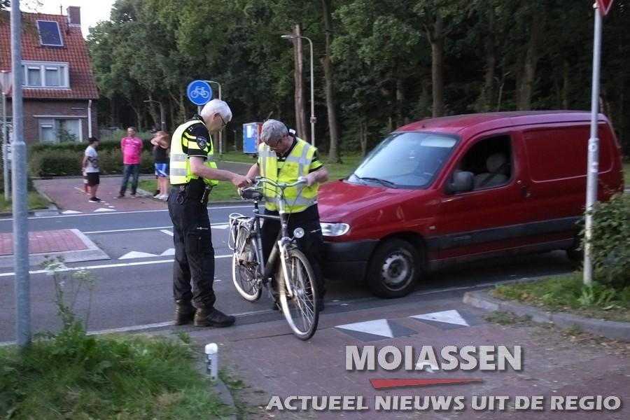 Weer fietser gewond na aanrijding met auto op Rolderhoofdweg in Assen