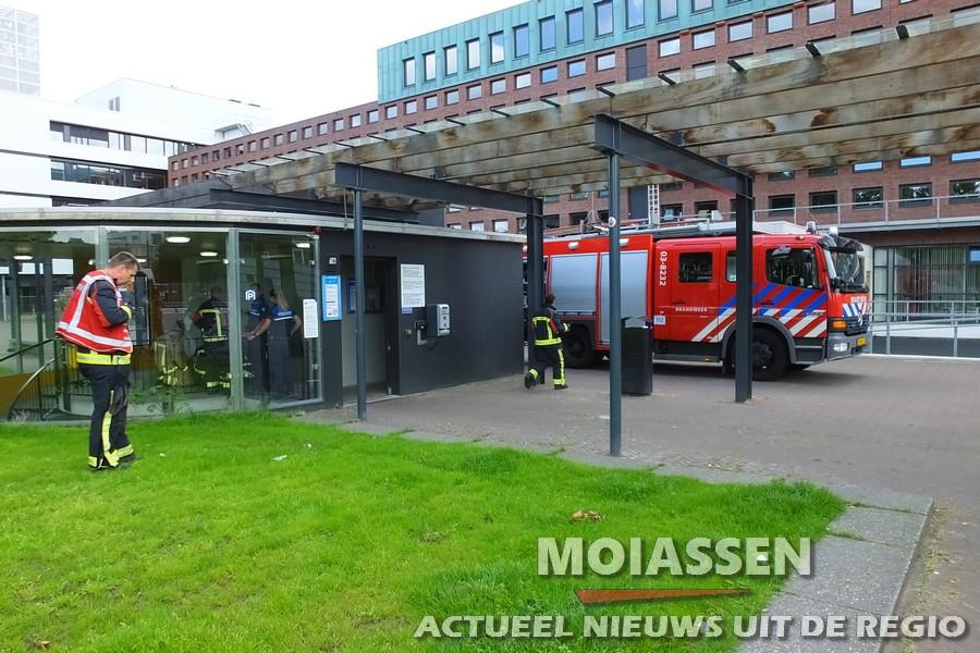 Liftopsluiting Parkeergarage Stadhuis Assen
