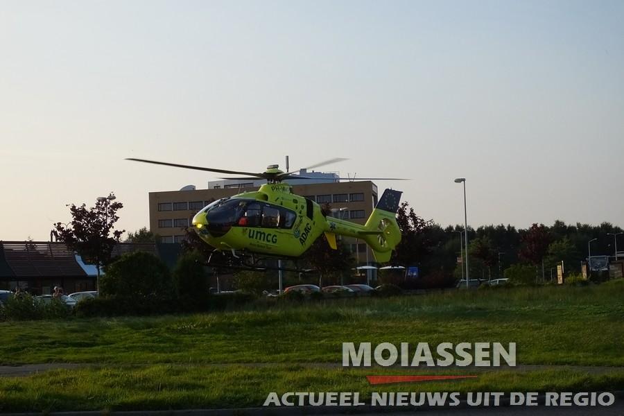 Ambulance vraagt om assistentie MMT in Assen