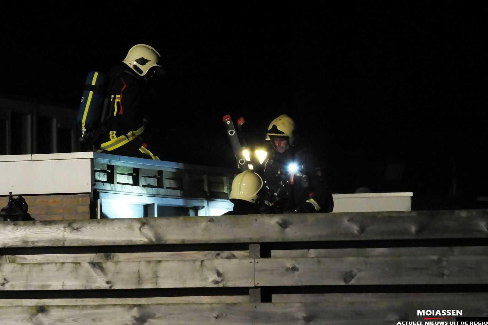 Brandweer Assen gealarmeerd  voor brand in schuur