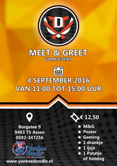 Meet & Greet met Youtuber TheDutchTerms