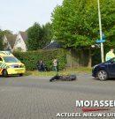 Brommerrijder raakt gewond na aanrijding met auto in Assen