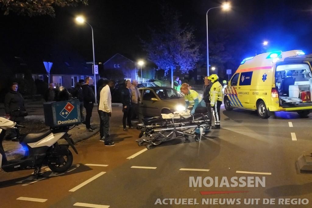 Fietser gewond na aanrijding met auto in Assen