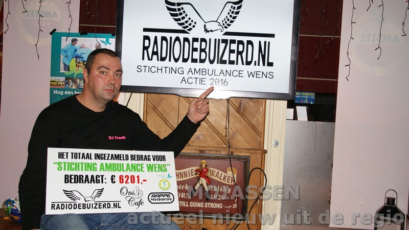 Slotfeest van Stichting Ambulance Wens Nederland in ons café