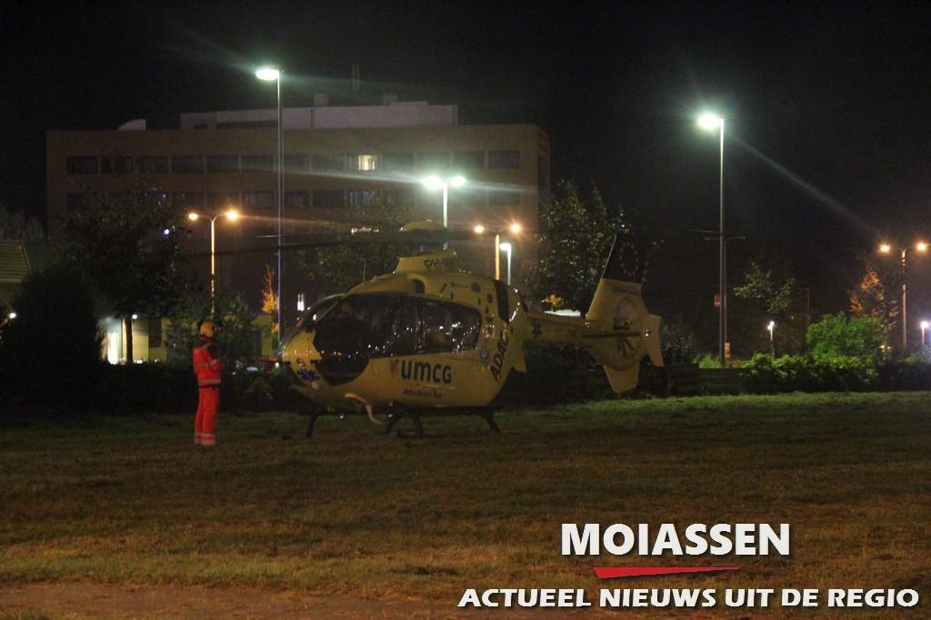 MMT assisteert bij medisch noodgeval in Assen
