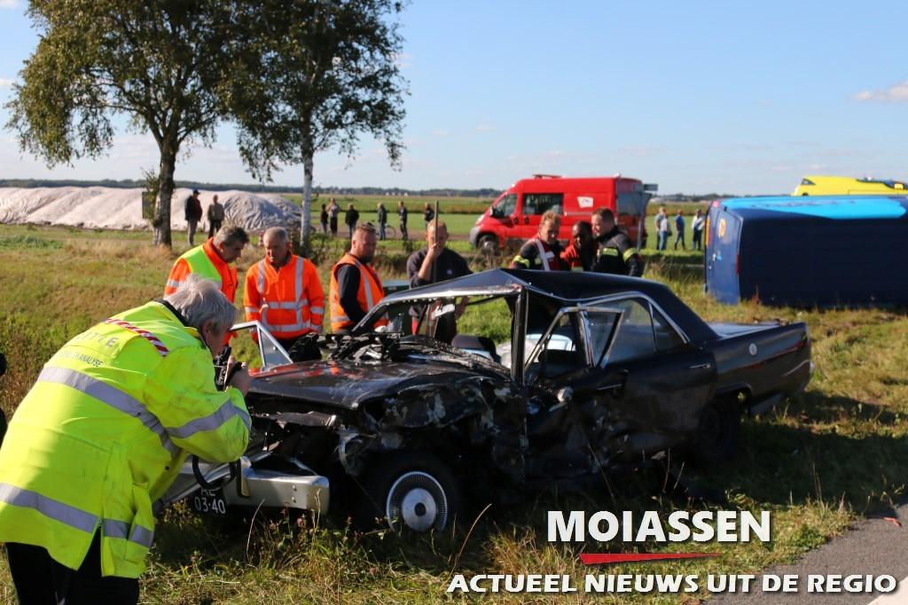 Zwaar ongeval Drentsemondenweg in Valthermond