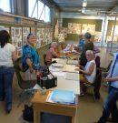 Laatste workshop Galyna Aguf bij Vanderveen