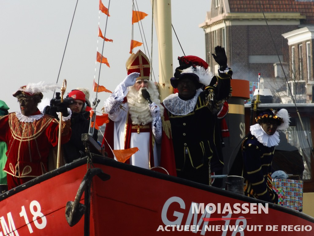 Nieuwe route Sinterklaasintocht Assen op 18 november 2017