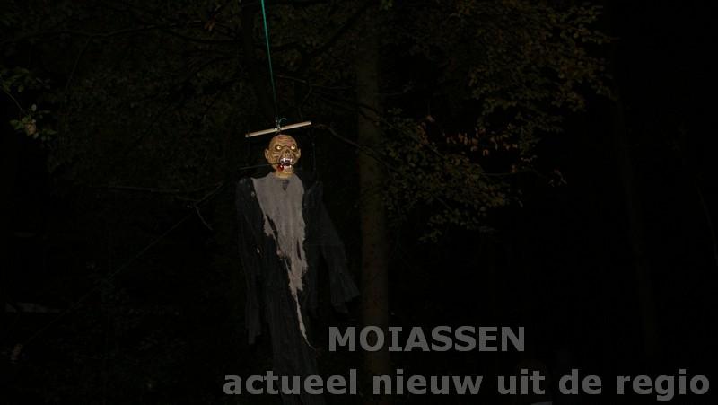 Halloweenavond is weer voorbij