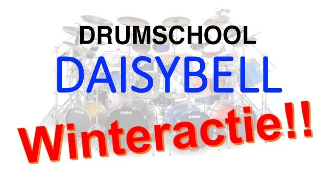 Drumschool Daisybell  Winteractie  Assen