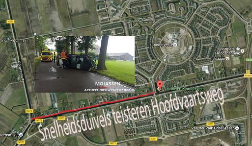 Oplossing tegen snelheidsduivels op Hoofdvaartsweg stap dichterbij.