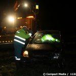 Vrouw uit Yde de Punt valt in slaap op de A28 bij Vries