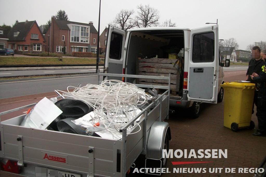 Politie ontruimd hennepkwekerij aan Kanaalstraat in Assen