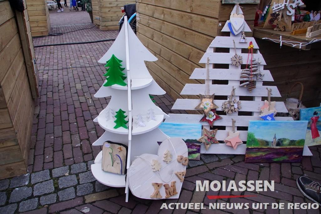 Kerstmarkt en zang  in Assen 2016