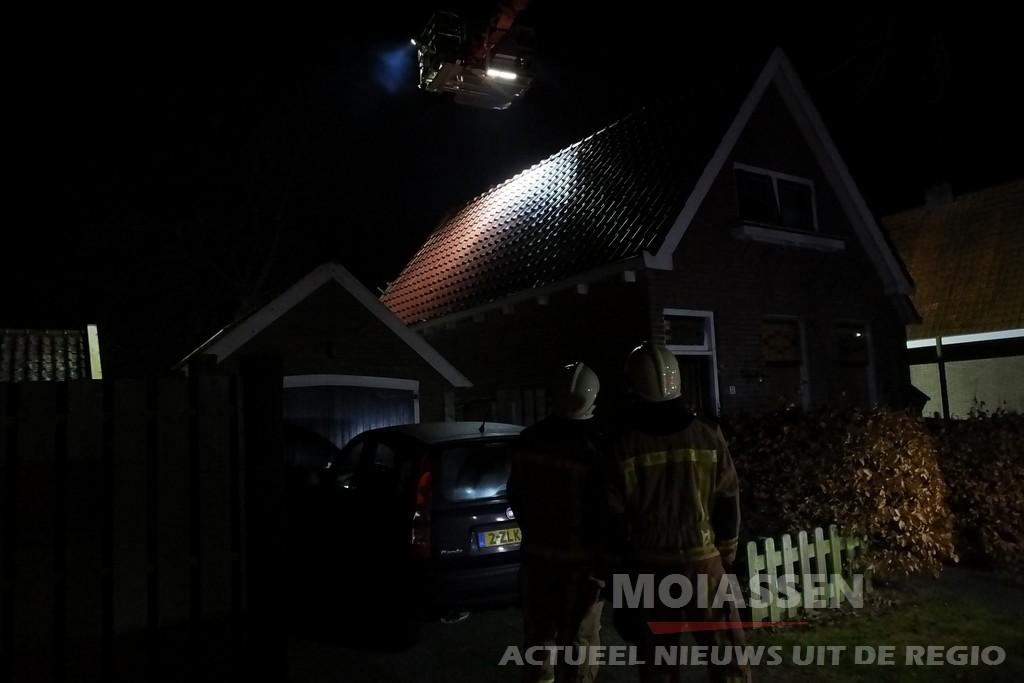 Brandweer Assen gealarmeerd voor schoorsteenbrand in Assen