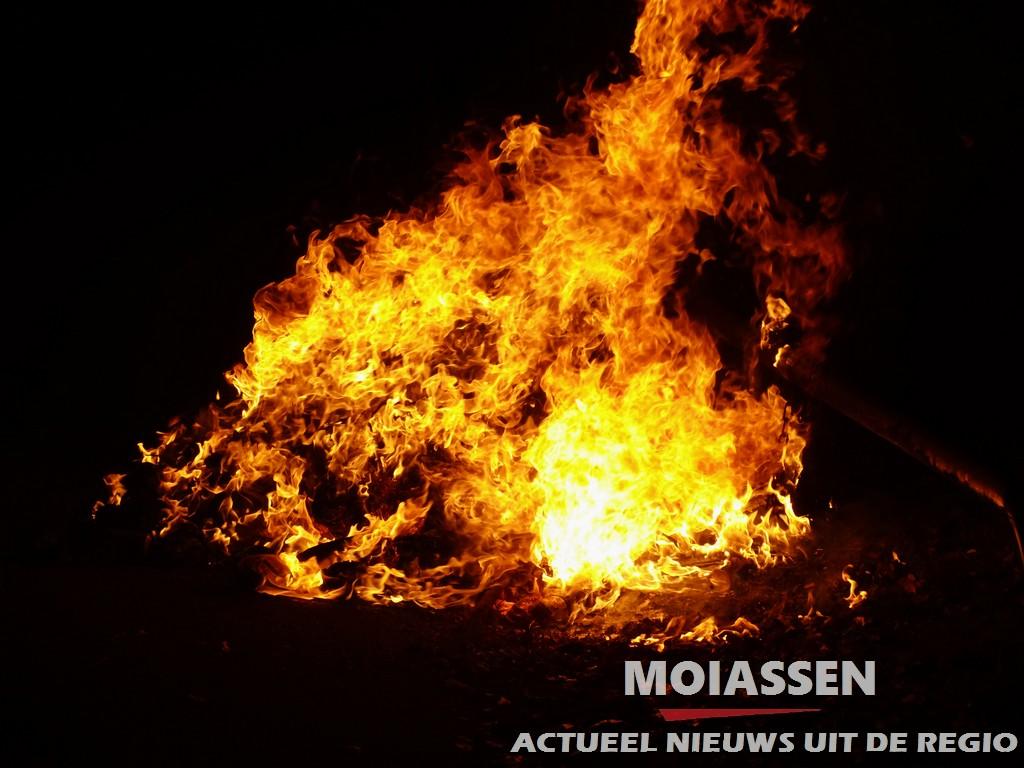 Containerbrand op het terrein van GGZ  Drenthe