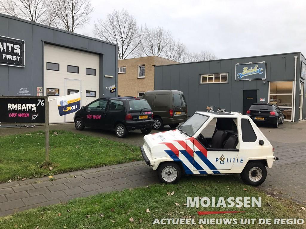 Oude politiewagentje van het Verkeerspark blijft in Assen