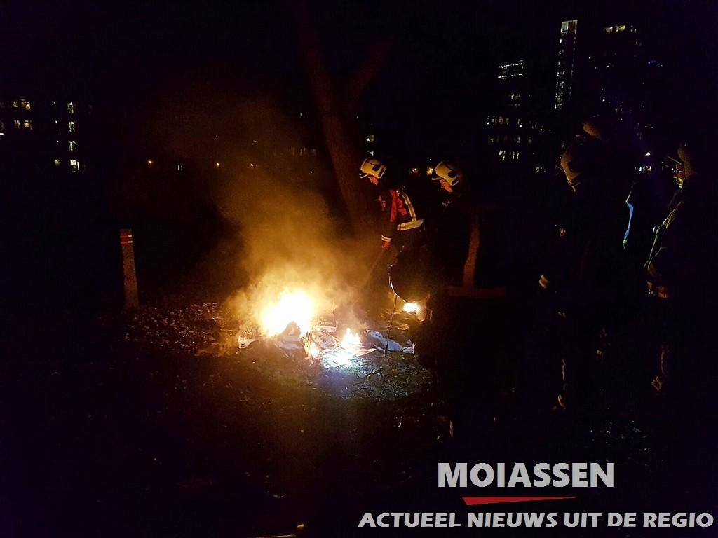 Buitenbrand in de wijk Assen – Oost