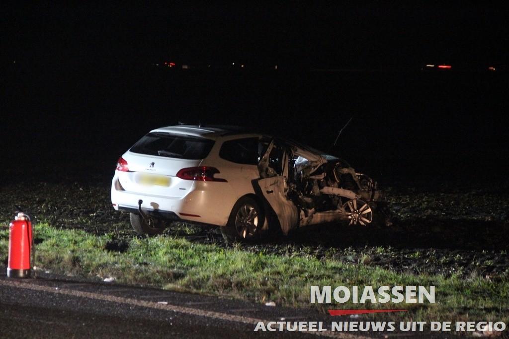 Zwaar verkeersongeval op N34 tussen Borger en Gieten (VIDEO)
