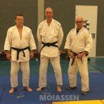 Judoka's uit Westerbork doen examen voor zwarte band
