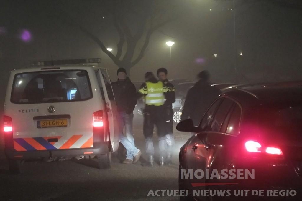 Man aangehouden in Assen na achtervolging door de politie