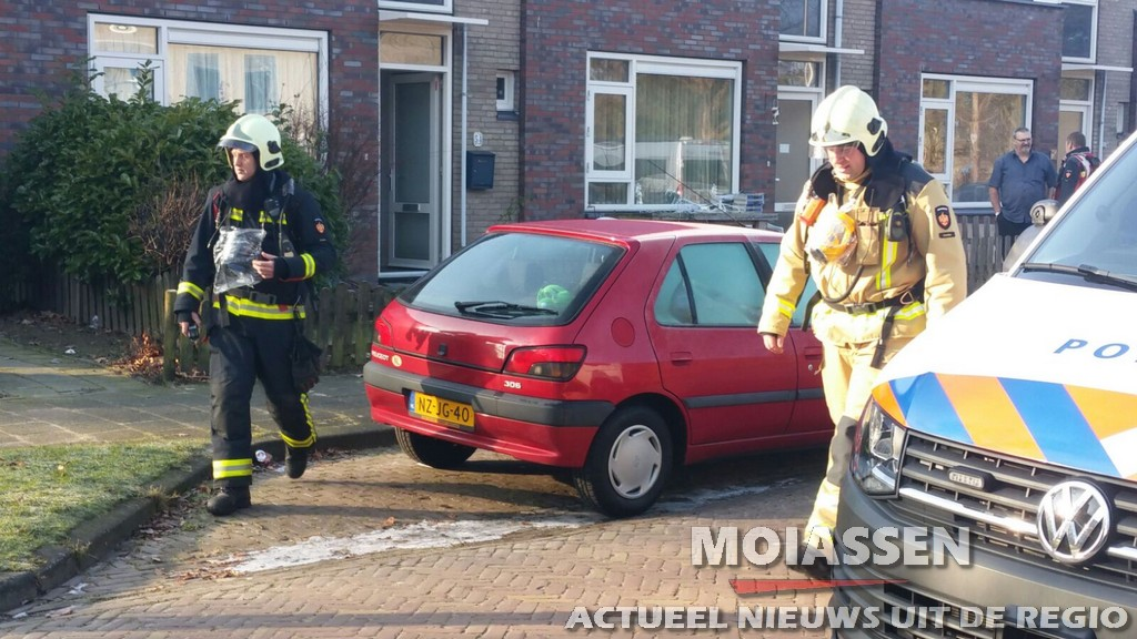 Gaslucht ongeval Dotterbloemstraat in Assen-Oost