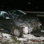 Eenzijdig verkeersongeval op N33 bij Anderen