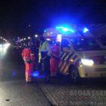 Fietser over het hoofd gezien door een automobilist in Assen