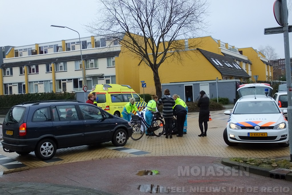 Wederom fietser gewond bij aanrijding aan de Oude Molenstraat met de Korenmolen in Assen
