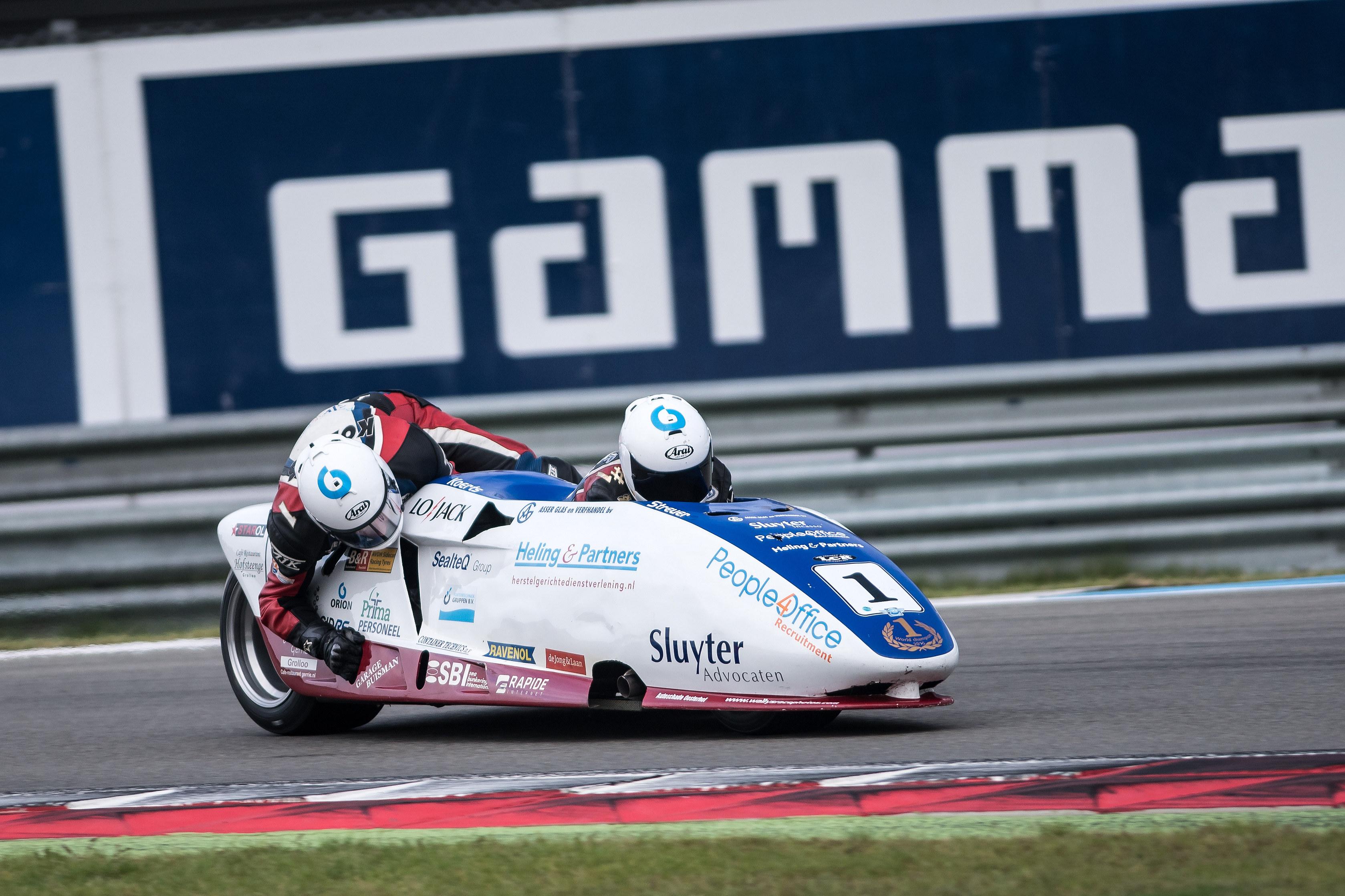 FIM Sidecar Grand Prix opnieuw onderdeel van GAMMA Racing Day