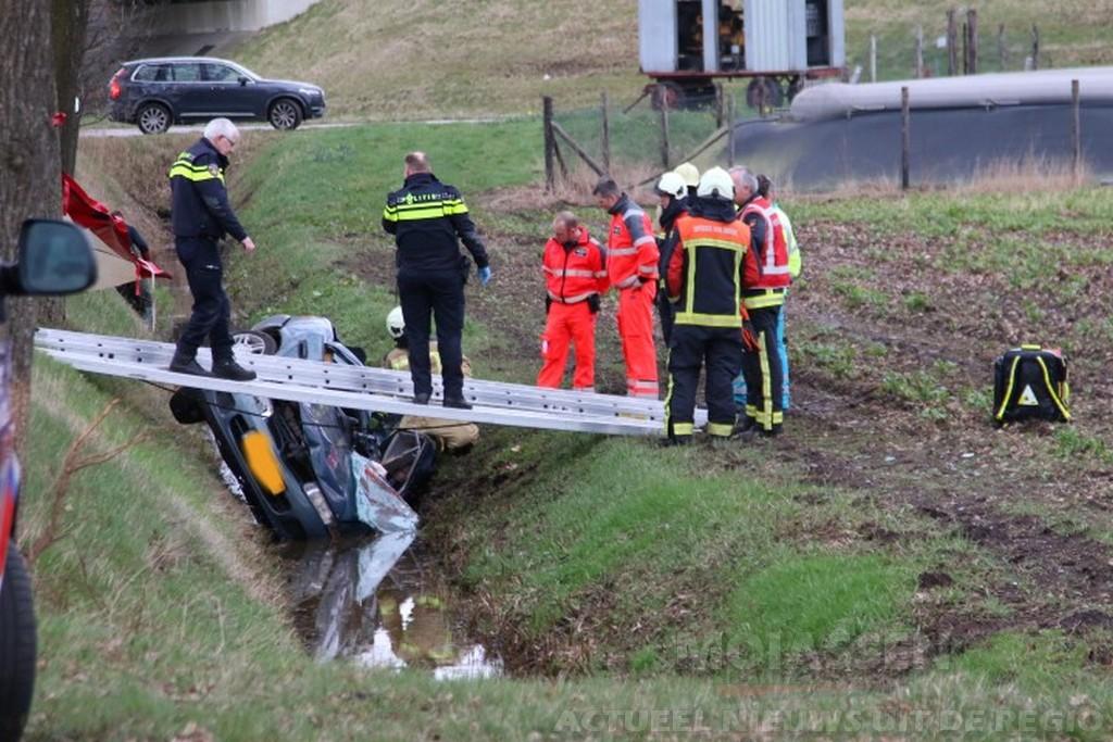 Dodelijk ongeval Slenerweg bij Noord-Sleen en Emmen