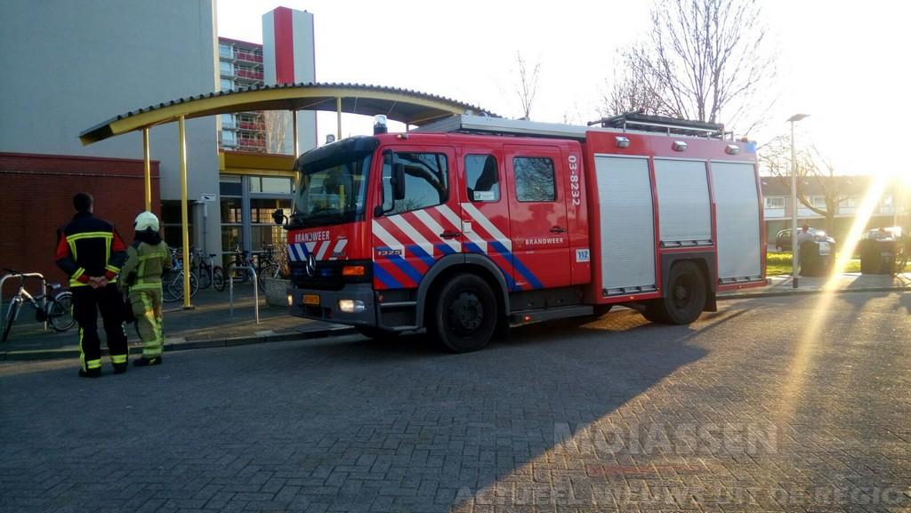 Ongeval (gaslucht) Speenkruidstraat in de wijk Assen-Oost