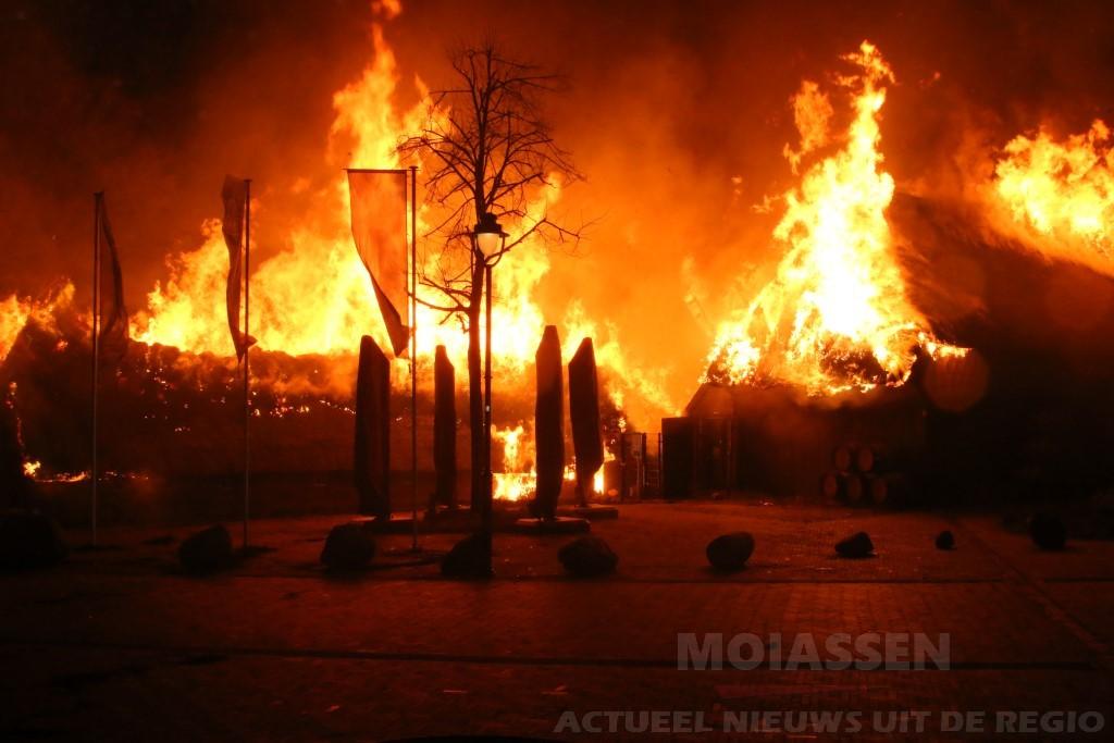 Oorzaak brand destilleerderij Exloo is niet meer te achterhalen