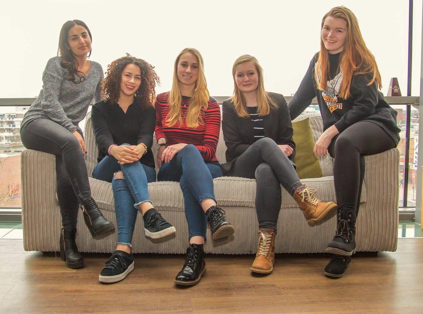 Studenten Drenthe College organiseren lentemodeshow bij Vanderveen