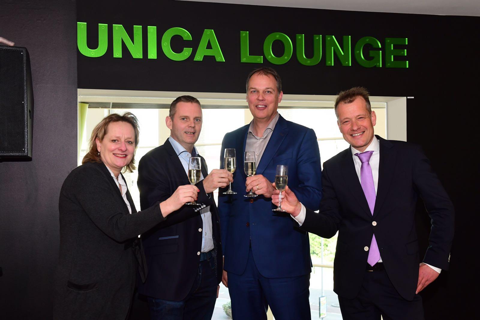 Unica nieuwe sponsor DNK (De Nieuwe Kolk Assen)
