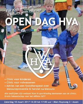Zaterdag 18 maart 2017: Open Dag Hockey Vereniging Assen