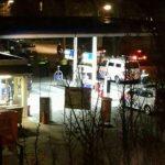 Politiemacht op de been in Assen door Rotterdamse hooligans