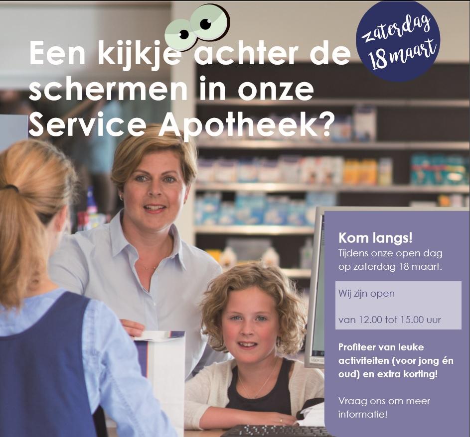 Open dag bij Service Apotheek Themmen
