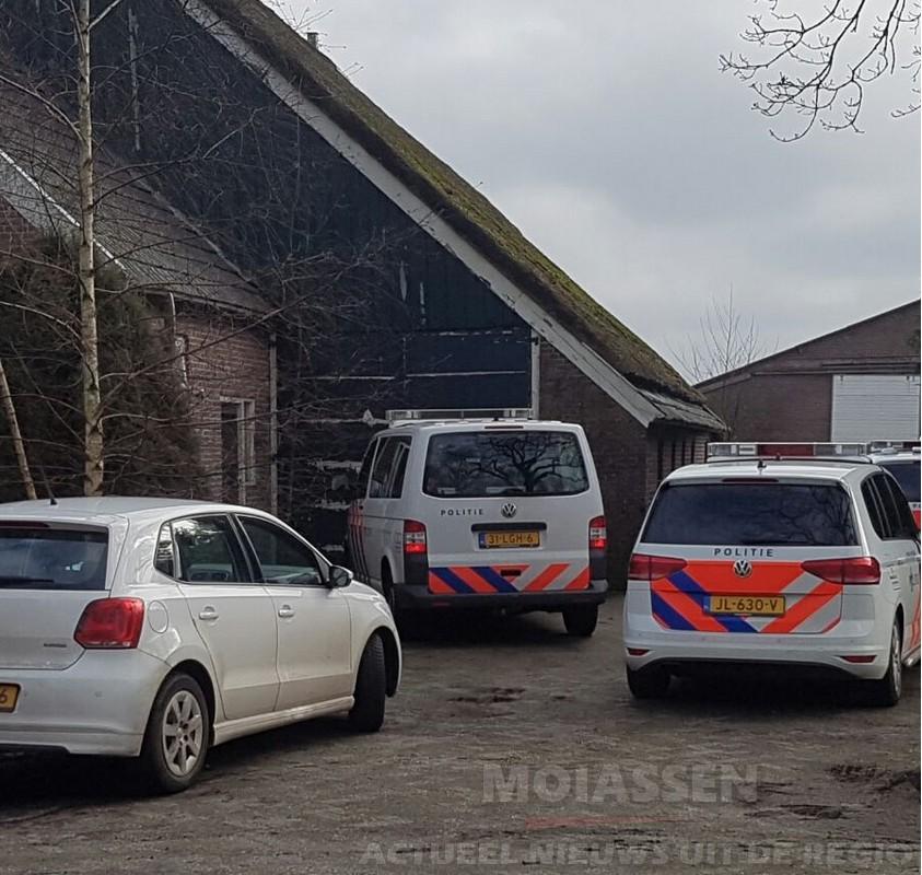 Vier aanhoudingen bij hennepkwekerij aan de Graswijk in Assen