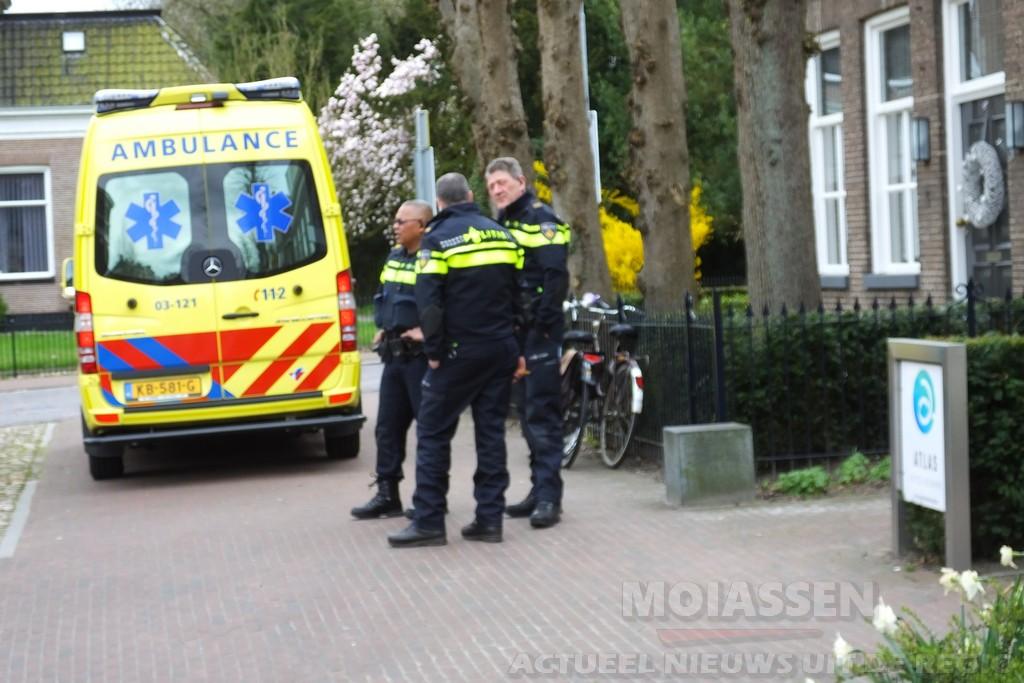 Sturen in elkaar: één fietser gewond naar ziekenhuis in Assen