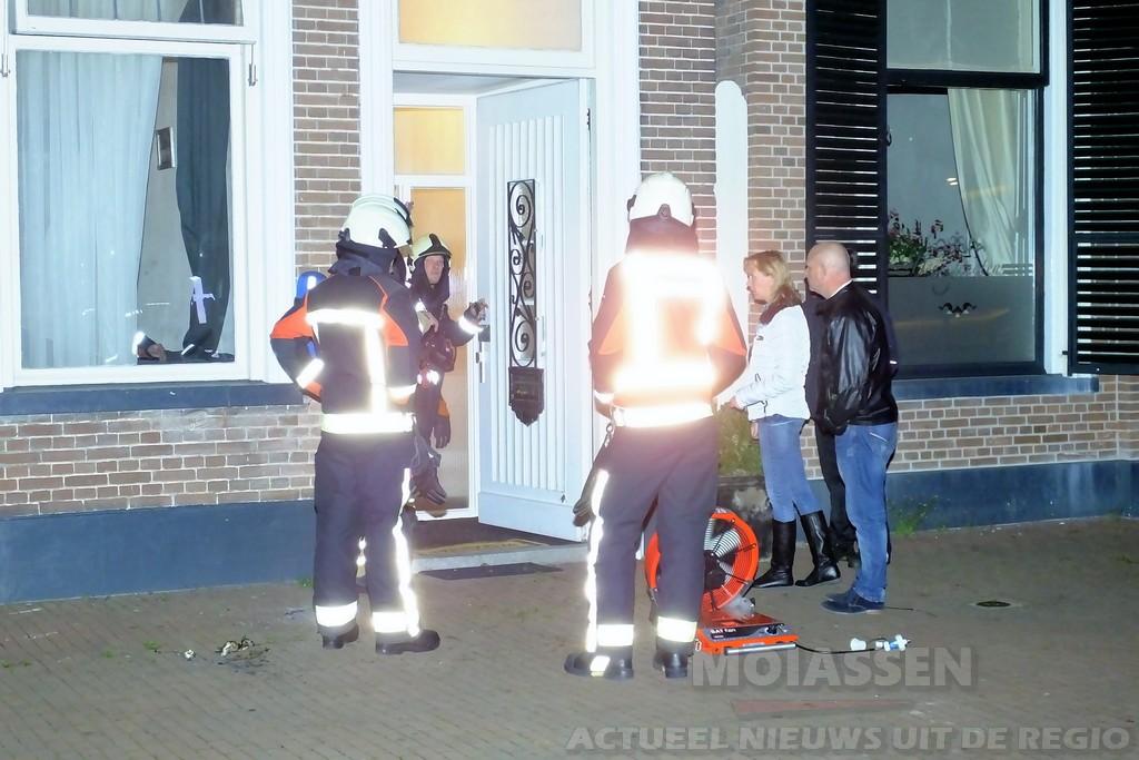 Politie onderzoekt poging tot brandstichting van een woningbrand aan de Vaart NZ in Assen